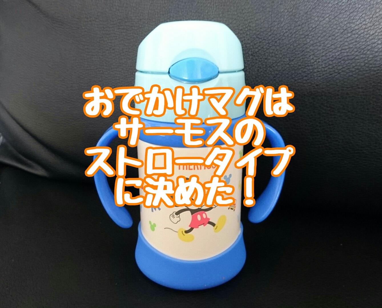 赤ちゃん用おでかけマグはサーモスのストロータイプが使える!