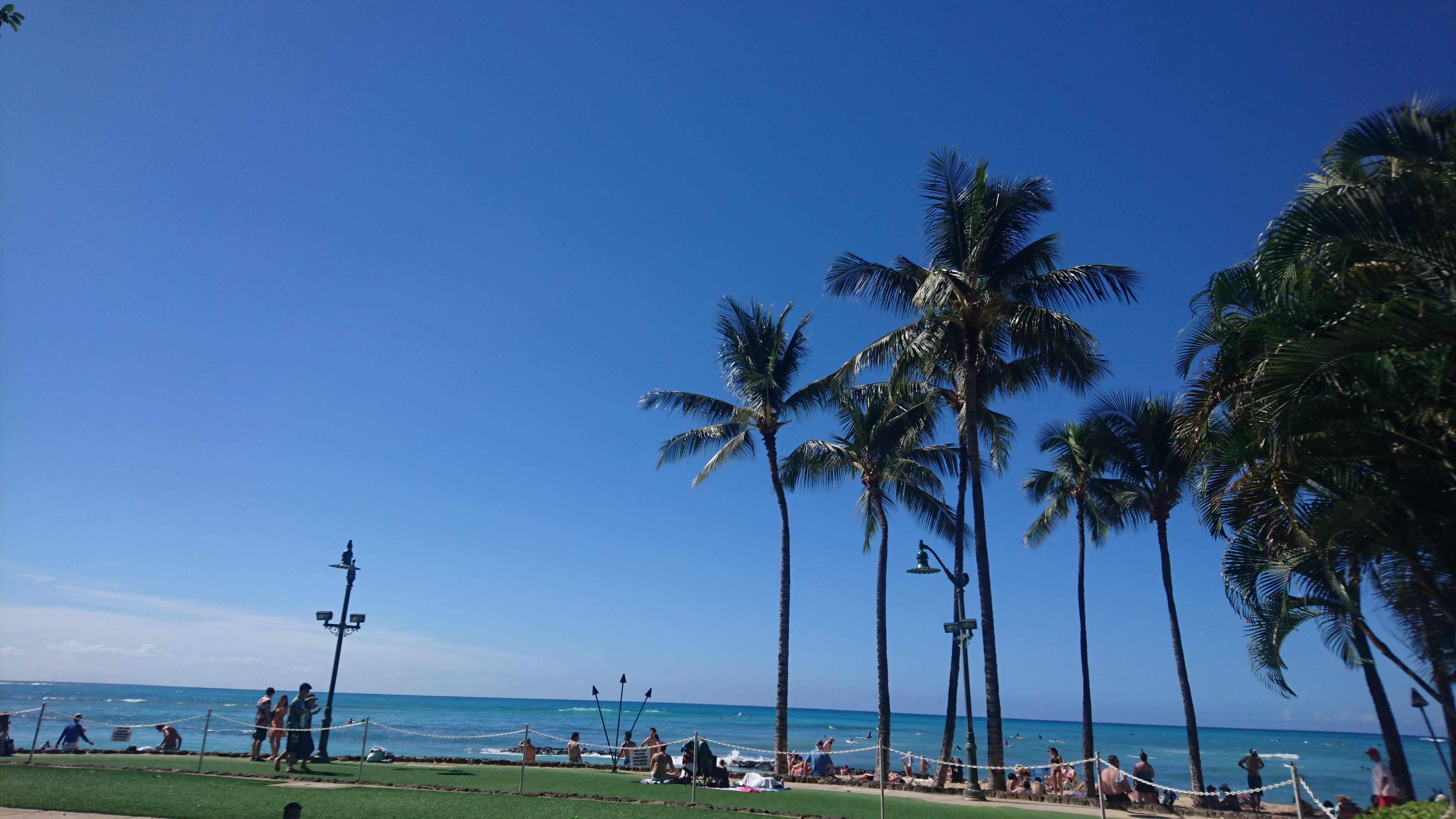ハワイ・ワイキキ10〜11月の天気は?服装は?思ったより暑かった!